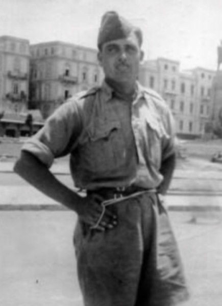 1942, George in Alexandria