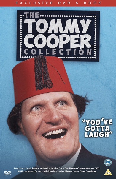 The Tommy Cooper Collection Exclusive DVD & Book