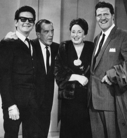 With Roy Orbison!