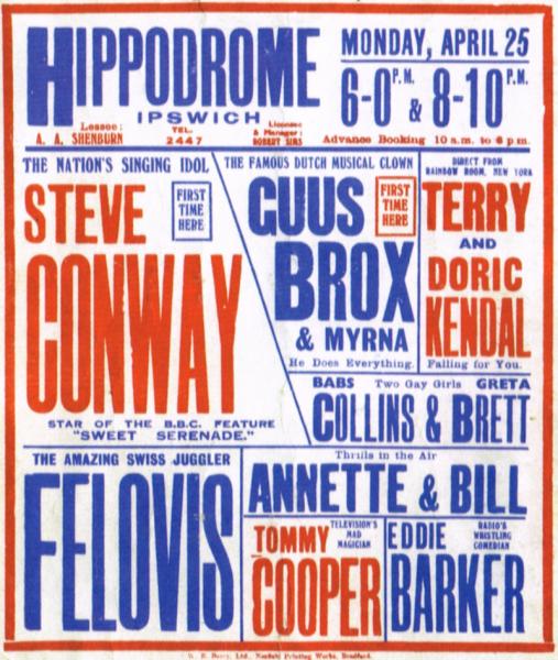 Hippodrome Poster