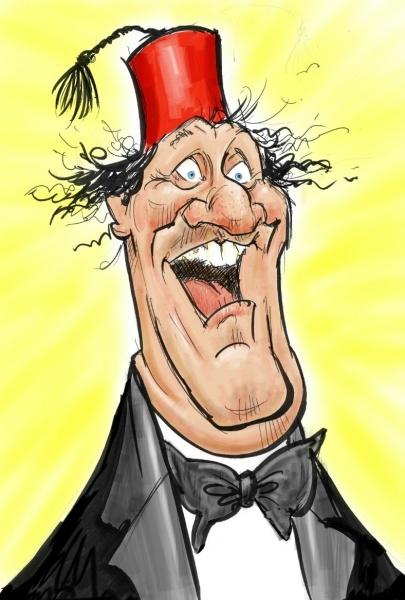 Paul Baker Caricaturist