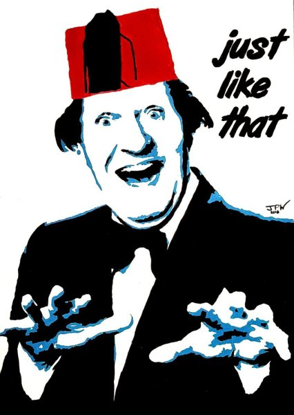 Tommy Cooper by John Paul Wood