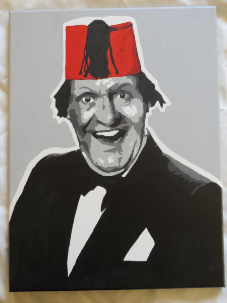 The one and only Tommy Cooper by ennersemporium