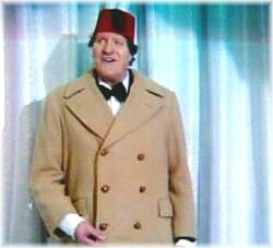 """Do you like the coat? Camel hair........it is genuine camel hair."""