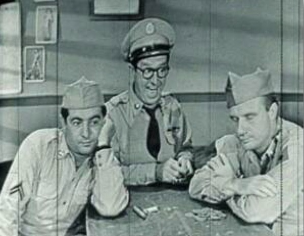 Jack Warden as Henshaw (right)