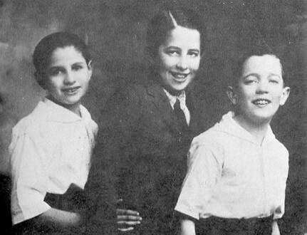 Aged eleven with Bud and Buddy junior