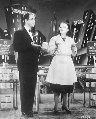 As Charlie Moore, with Patsy Kelly in 'Hit Parade of 1941'