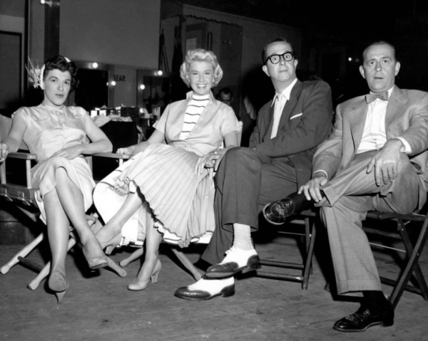 Nancey Walker, Doris Day, Phil and Eddie Foy jr.