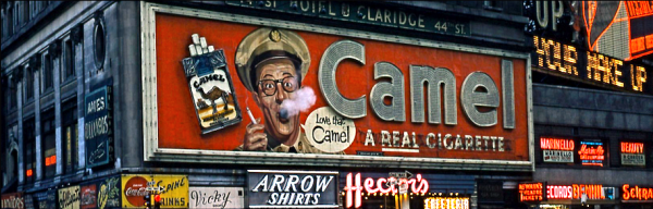 So popular was the show, that ​Bilko made an appearance on the iconic Times Square advertising board