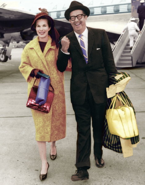 15th June 1959 - Arriving in London