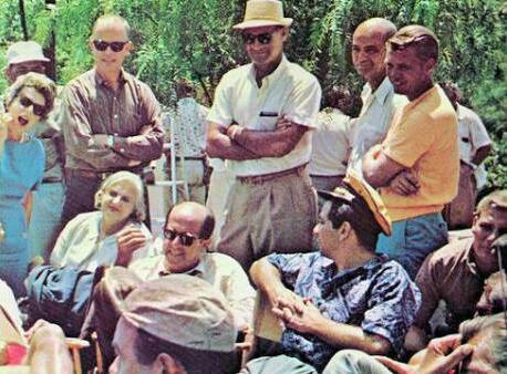 Phil Silvers holds court