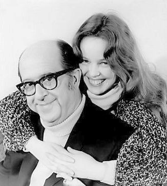 Phil with Sandy Dennis