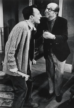 Phil as Frank Foster with Tom Aldredge as William Detweiler