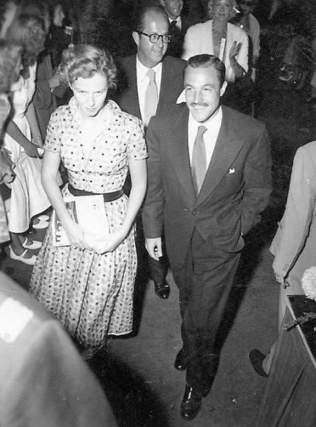 1951: Betsy Blair and Gene Kelly