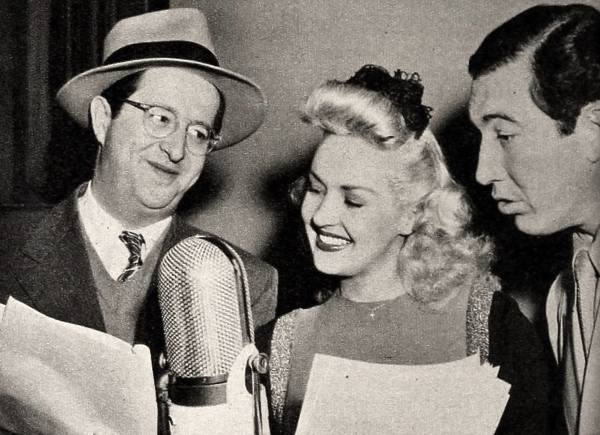 Betty Grable and Rags Ragland