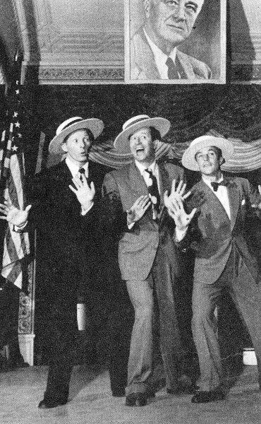 Danny Kaye and Gene Kelly