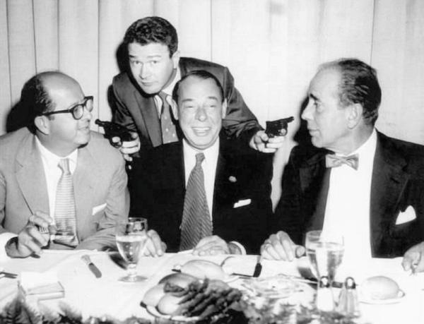 Joe E. Lewis, and Humphrey Bogart