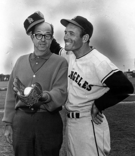 With L.A. star Jimmy Piersall