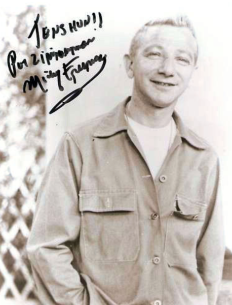 Private Fielding Zimmerman - Played by Mickey Freeman