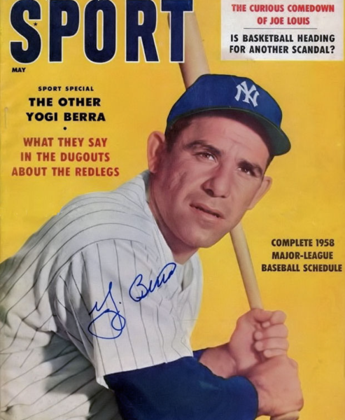 Guest star - Played by Yogi Berra