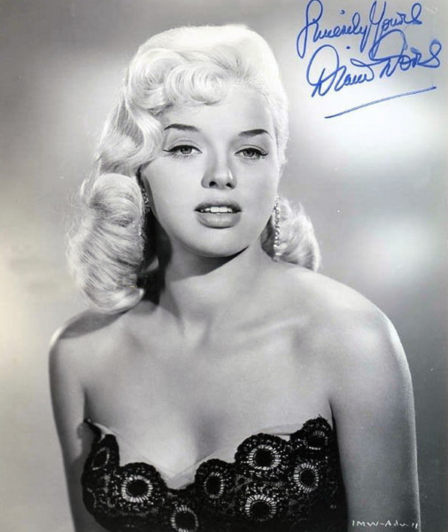 Guest star - Played by Diana Dors
