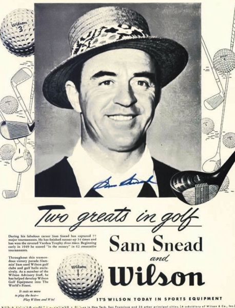 Guest star - Played by Sam Snead