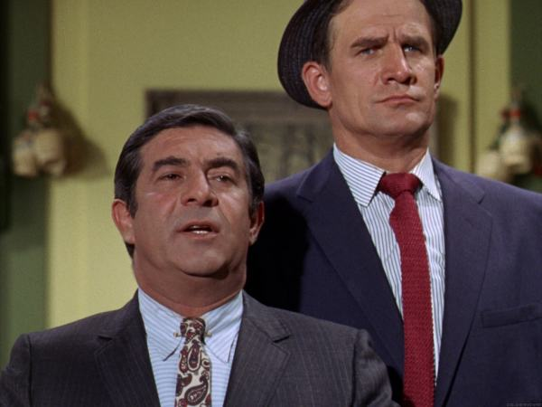 Appearing on 'The Monkees' with former 'Bilko' compatriot Harvey Lermbeck