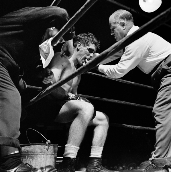 Walter was actually a Professional middleweight Boxer in real life too.