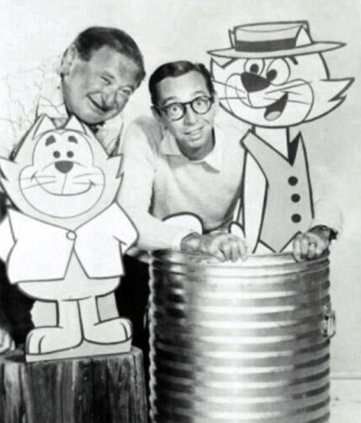 With Arnold Stang and Top Cat