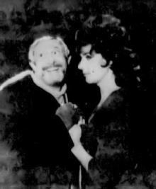 Fagin with Nancy (Bernice Massi)