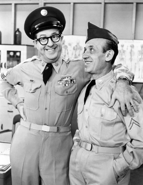 Corporal Sam Fender with Bilko
