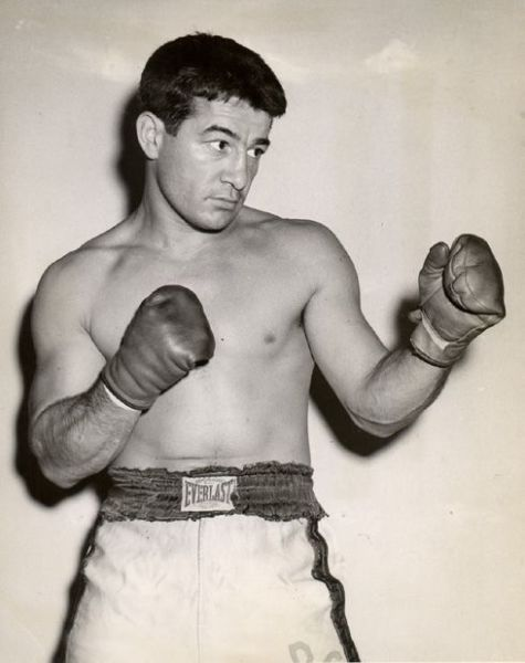 Soon was back boxing again, this time fighting under the name of his sister's boyfriend, Rocky Graziano.