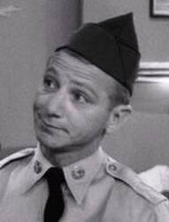 Private Fielding Zimmerman - Played By Mickey Freeman (Comes from a military family - his mother was a wac!)
