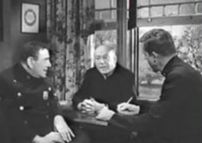 1962: As a pastor on 'Car 54'