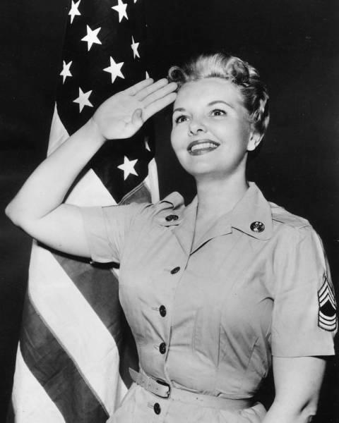Sergeant Joan Hogan!