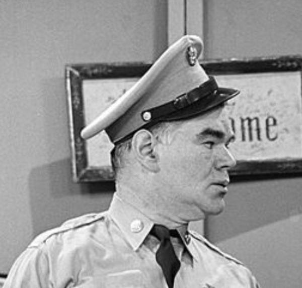 Sergeant Quentin Q. Benton (George Mathews)