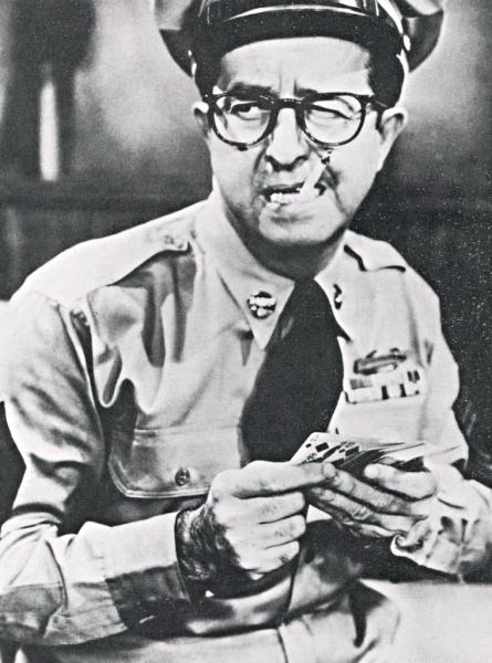Sergeant Ernest G. Bilko (Phil Silvers)