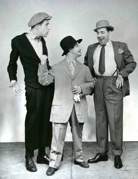 Fred Gwynne, Left, in 'Mrs McThing'