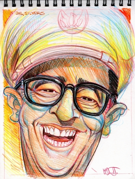 Sergeant Bilko Phil Silvers by McDermott