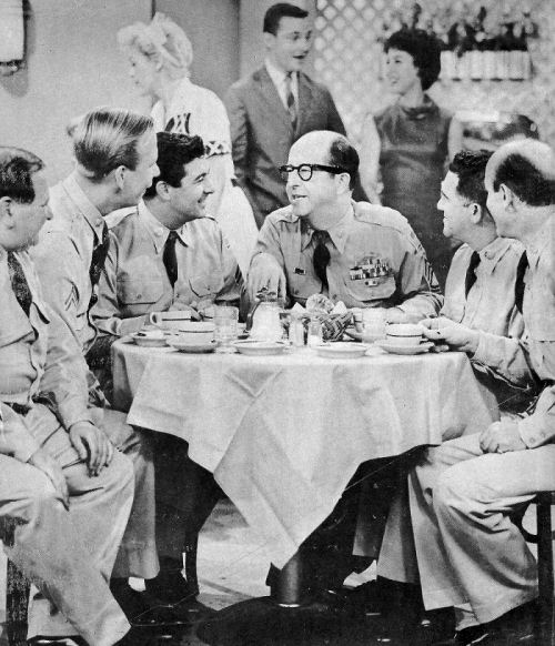 The real discipline of army life comes as a surprise to those indoctrinated by Bilko
