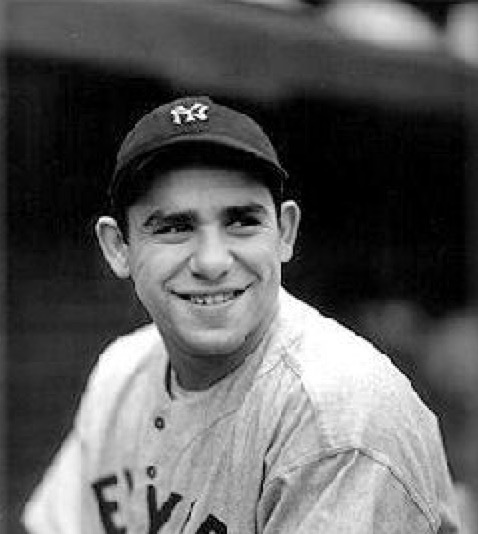 Yogi Berra - A former Major League Baseball player and manager. He played almost his entire career for the New York Yankees and was elected to the baseball Hall of Fame in 1972. Berra was one of only four players to be named the Most Valuable Player of the American League three times and one of only six managers to lead both American and National League teams to the World Series.