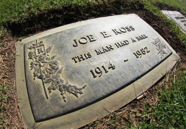 Gravestone: Situated in Forest Lawn cemetery, Hollywood Hills, Los Angeles a wonderful quote engraved on grave.