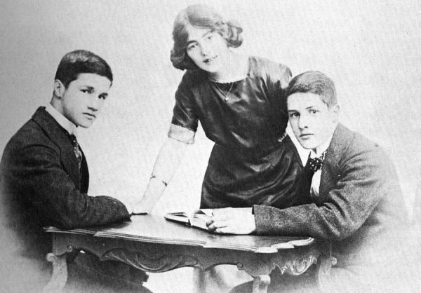 Albert, Lois and Cyril.  The siblings of the Ball family.