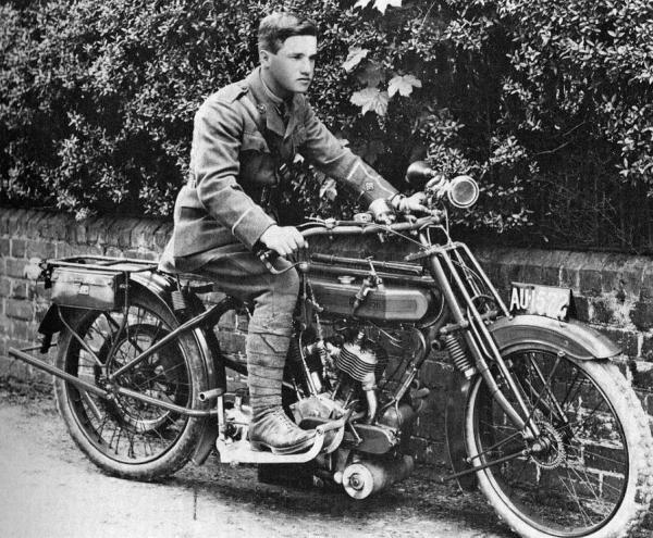 1915, Albert, now Second Lieutenant, in the NMDCC.