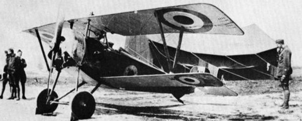 Nieuport Scout, A126.