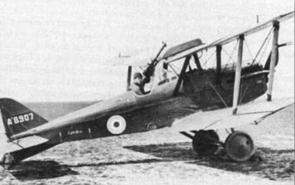 3rd May 1917 - Candas Royal Flying Corps Depot - Albert in a SE5 A8907 equipped with Lewis gun.