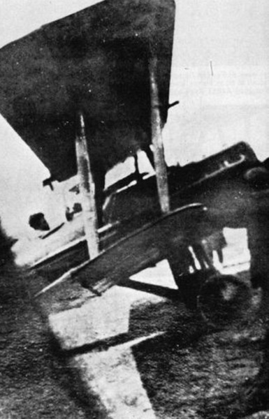 More than likely the last photo of Albert Ball ; here seated in SE5 A4850 (May 6 1917)