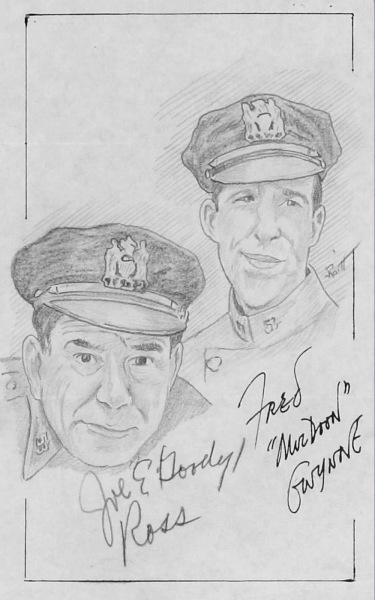 Joe E. Ross & Fred.