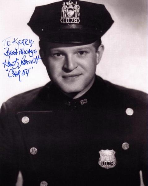 Hank Garrett.