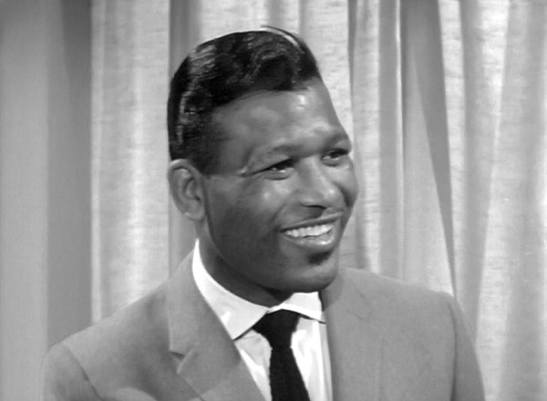 Sugar Ray Robinson making a guest appearance on the show called, 'The Puncher and Judy'.